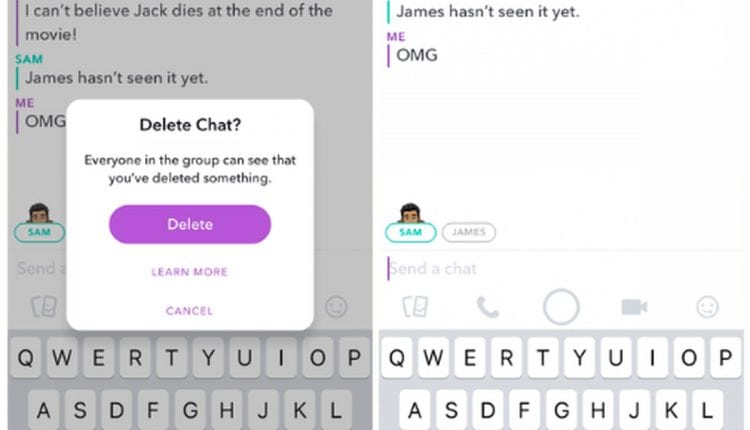 Snapchat now lets you delete unopened sent messages | Tech News