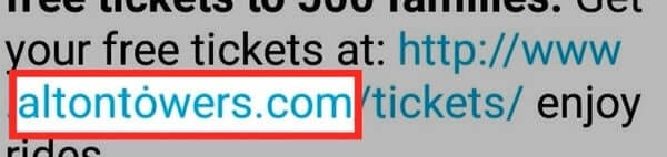 WhatsApp users targeted by homoglyph attack peddling free tickets to theme park   Tech News