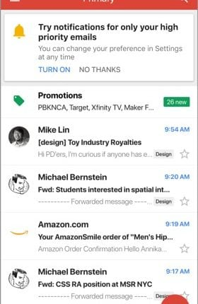 In a rush? Here's how Gmail on iOS will only show your highest priority notifications   Tech News