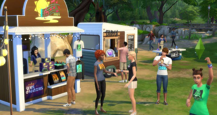The Sims 4 in-game music festivals from June 26 to July 7