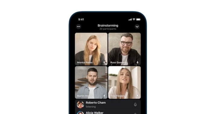 Telegram for iOS updated with Group Video Calls
