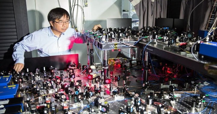 Chinese quantum computer 'sets record' in processing test